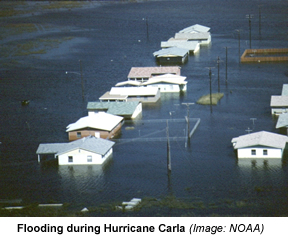 Image result for hurricaane carla 1961